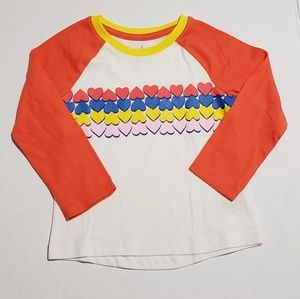 Cat & Jack | Heart Graphic Tee | 2T 3T or 4T NWT